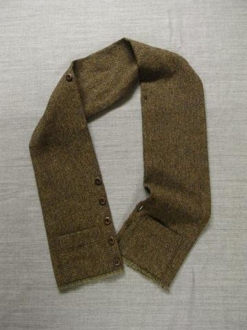 10月の製作 / shetlandwooltweed button-muffler_e0130546_13464878.jpg