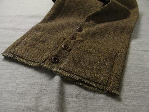 10月の製作 / shetlandwooltweed button-muffler_e0130546_13474444.jpg