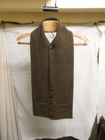 10月の製作 / shetlandwooltweed button-muffler_e0130546_13492065.jpg