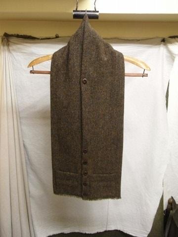 10月の製作 / shetlandwooltweed button-muffler_e0130546_13493881.jpg