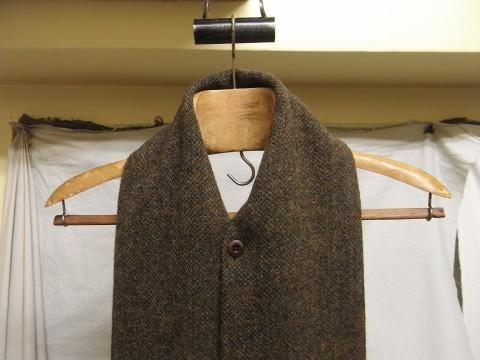 10月の製作 / shetlandwooltweed button-muffler_e0130546_13495045.jpg