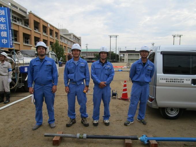 第40回豊山町総合防災訓練に参加しました。_b0203470_09052441.jpg