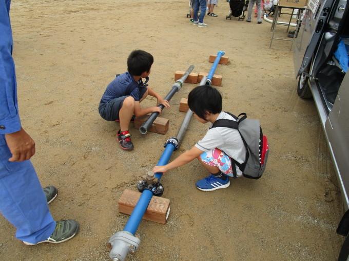 第40回豊山町総合防災訓練に参加しました。_b0203470_09065296.jpg