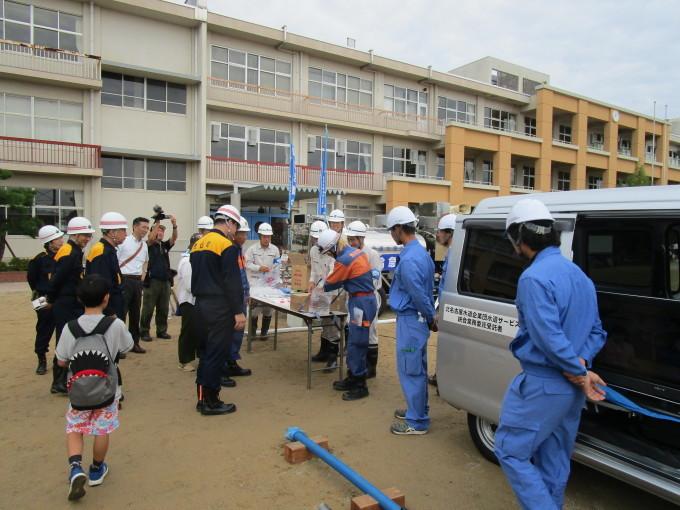第40回豊山町総合防災訓練に参加しました。_b0203470_09073395.jpg