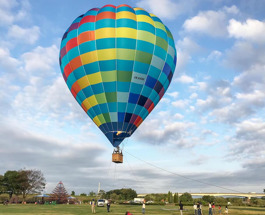 気球に乗って秋吉台の絶景を見よう!_c0150273_08275146.jpg