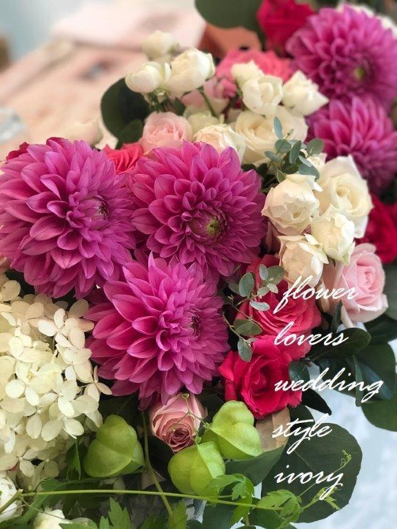 〜週末の婚礼から〜♬_b0094378_18553622.jpeg