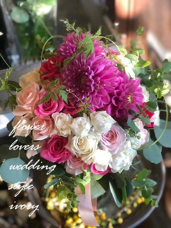 〜週末の婚礼から〜♬_b0094378_18555451.jpeg