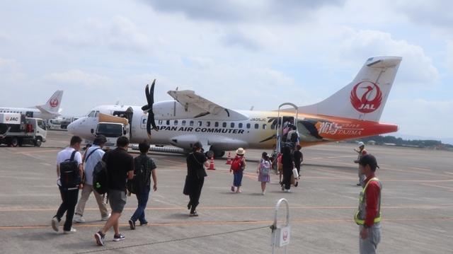藤田八束の鉄道写真@鹿児島空港には可愛い飛行機がいっぱいです。鹿児島空港から離島めぐり、最近離島めぐりが大人気・・・鉄道も人気上昇中、私は貨物列車が大好き_d0181492_22541318.jpg