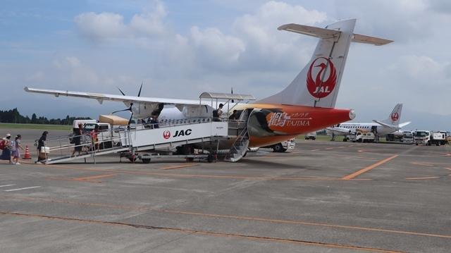 藤田八束の鉄道写真@鹿児島空港には可愛い飛行機がいっぱいです。鹿児島空港から離島めぐり、最近離島めぐりが大人気・・・鉄道も人気上昇中、私は貨物列車が大好き_d0181492_22543785.jpg