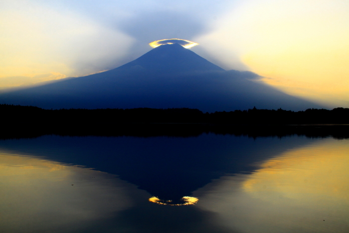 令和元年8月の富士(29)田貫湖の逆さ富士_e0344396_20592304.jpg