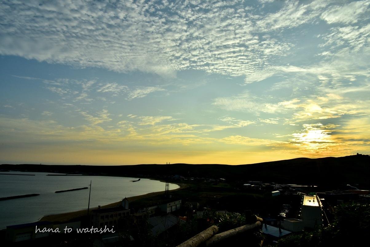 浜辺からの朝日_e0120026_23184995.jpg