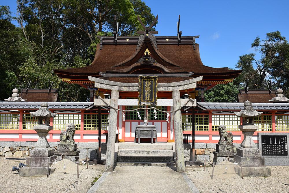 天誅組の足跡を訪ねて。 その3 「錦織神社」_e0158128_14461755.jpg