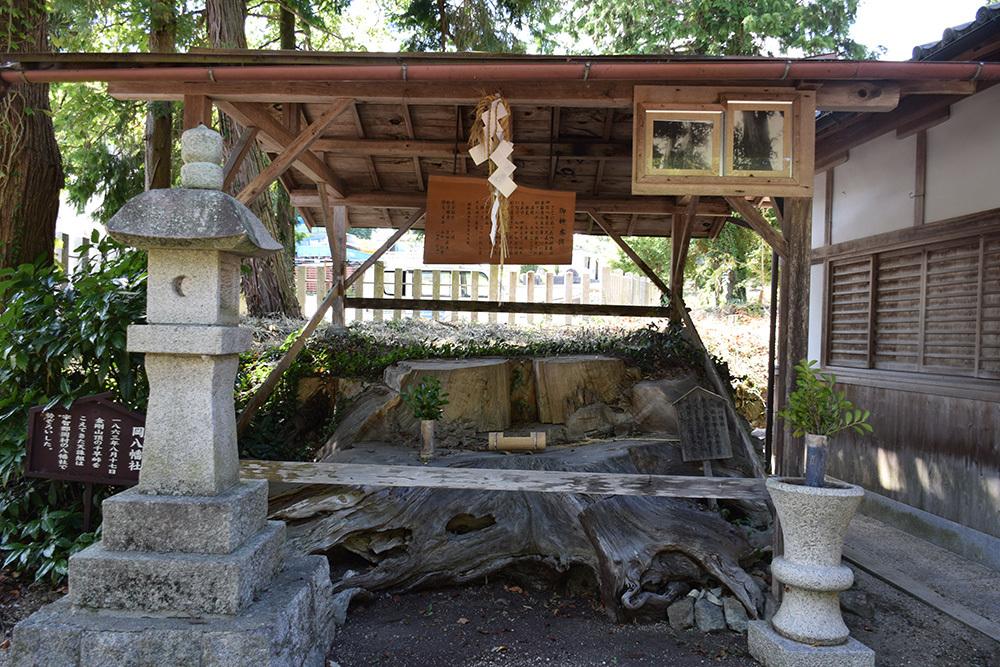 天誅組の足跡を訪ねて。 その7 「岡八幡宮」_e0158128_15463348.jpg