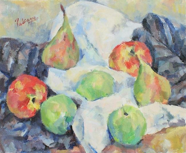 梨とリンゴ_c0236929_20395836.jpg