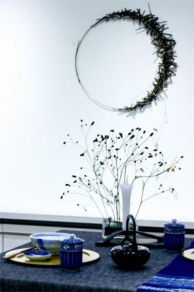 「 染付の器で秋を迎える 」 ~ LIFE DESIGN STUDIO 9月展_d0217944_09241628.jpg
