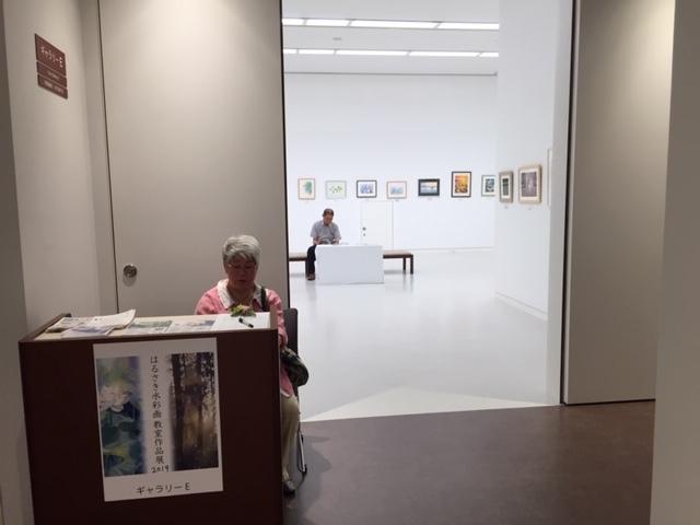 はるさき水彩画教室展 9/3(火)ー9/8(日)_f0176370_18454041.jpg