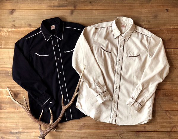 【DELIVERY】 STANDARD CALIFORNIA - Trimmed Western Shirt_a0076701_13563729.jpg
