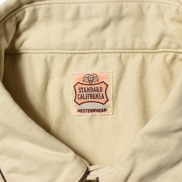 【DELIVERY】 STANDARD CALIFORNIA - Trimmed Western Shirt_a0076701_13592258.jpg