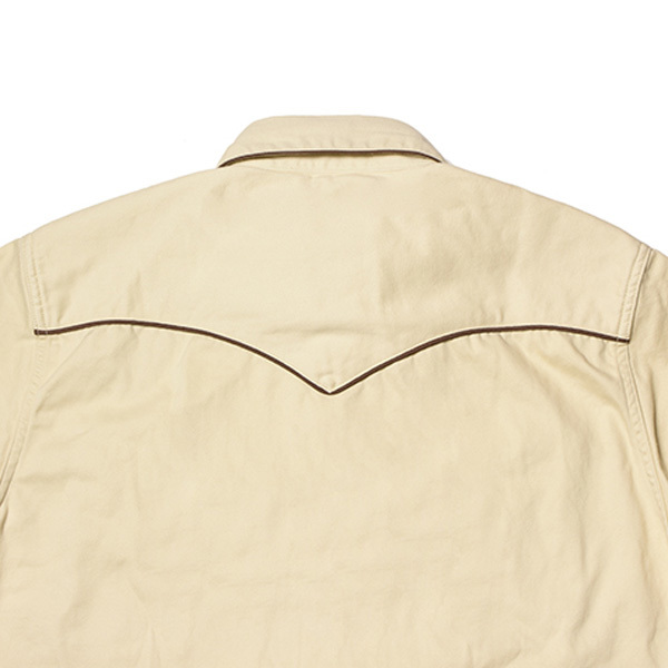 【DELIVERY】 STANDARD CALIFORNIA - Trimmed Western Shirt_a0076701_13594733.jpg