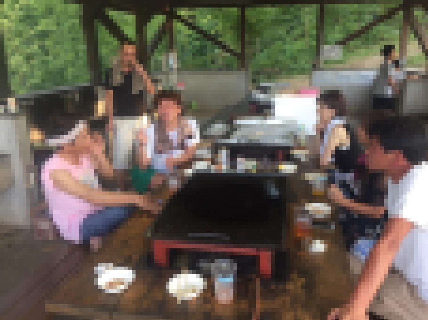 BBQキャンプ@船岡竹林公園_e0115904_02281567.jpg