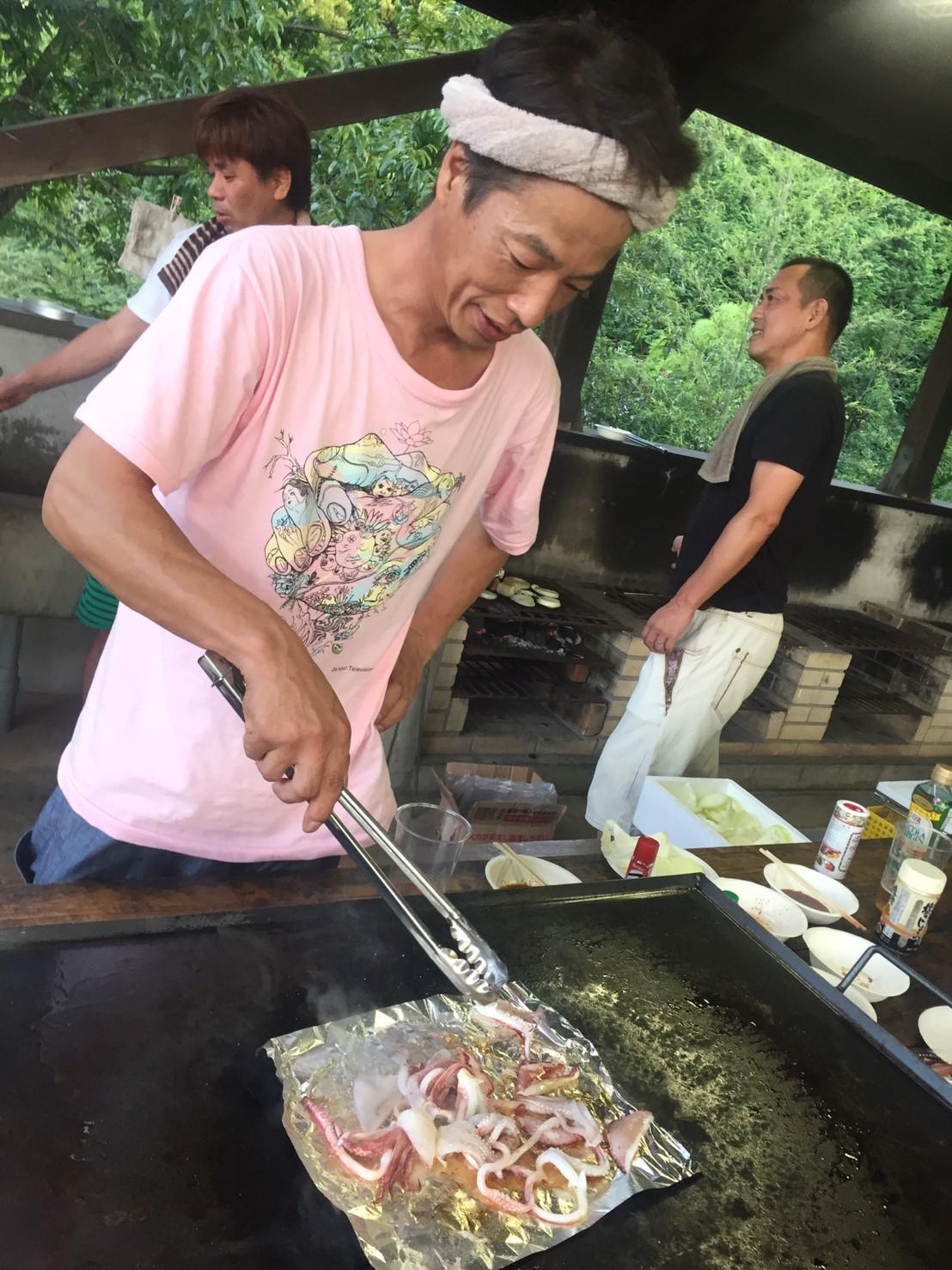 BBQキャンプ@船岡竹林公園_e0115904_02395335.jpg