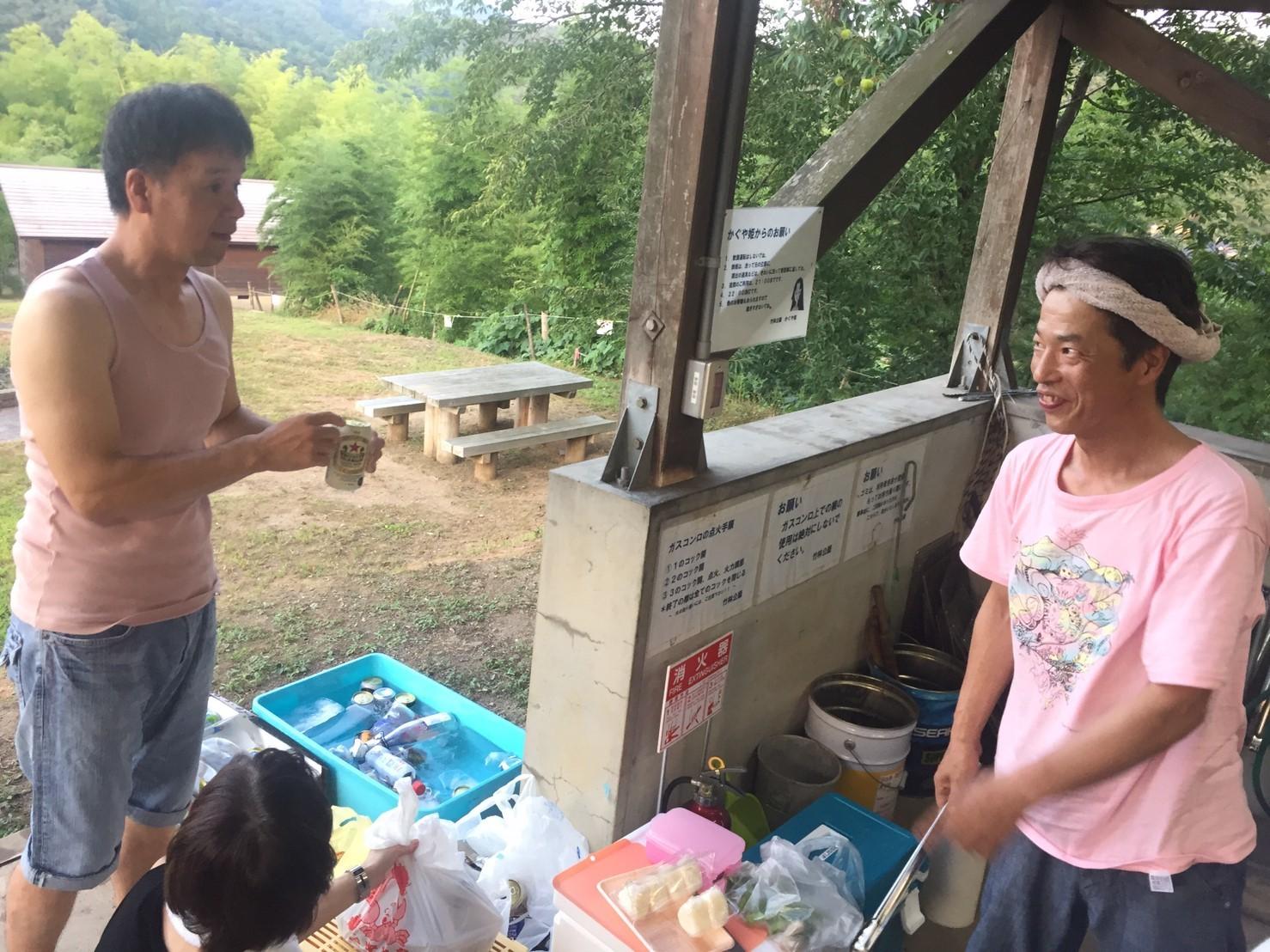 BBQキャンプ@船岡竹林公園_e0115904_02471241.jpg