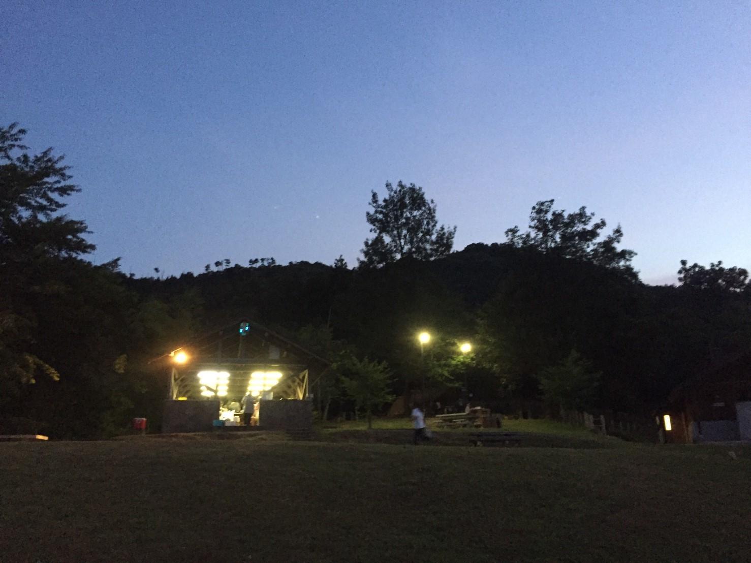 BBQキャンプ@船岡竹林公園_e0115904_03573066.jpg