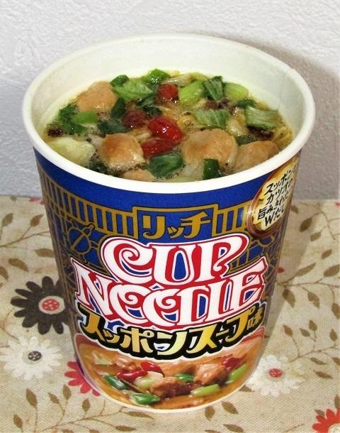カップヌードル リッチ スッポンスープ味~すっぽ~~ん_b0081121_05511646.jpg
