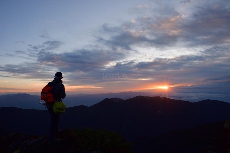 北岳 〜ご来光と富士山〜_f0321522_19514126.jpg