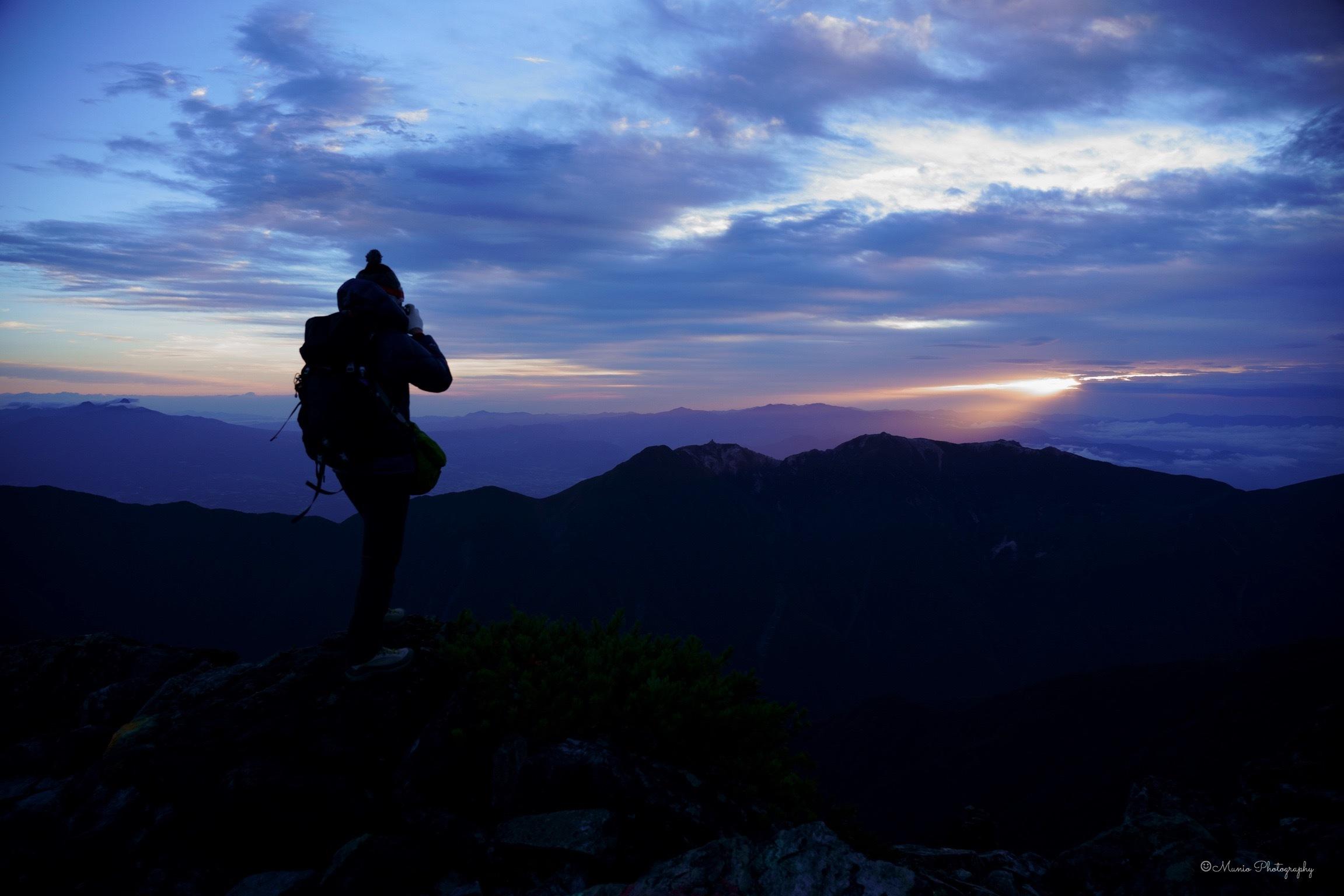 北岳 〜ご来光と富士山〜_f0321522_20080141.jpg