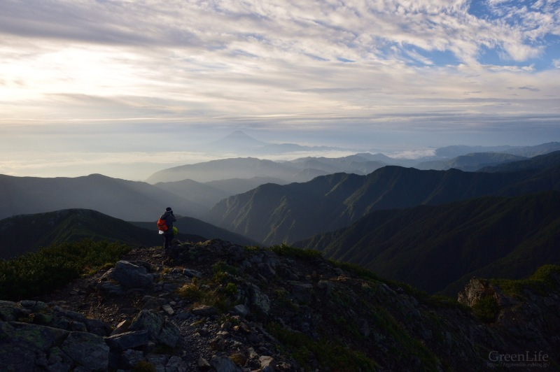 北岳 〜ご来光と富士山〜_f0321522_20313026.jpg