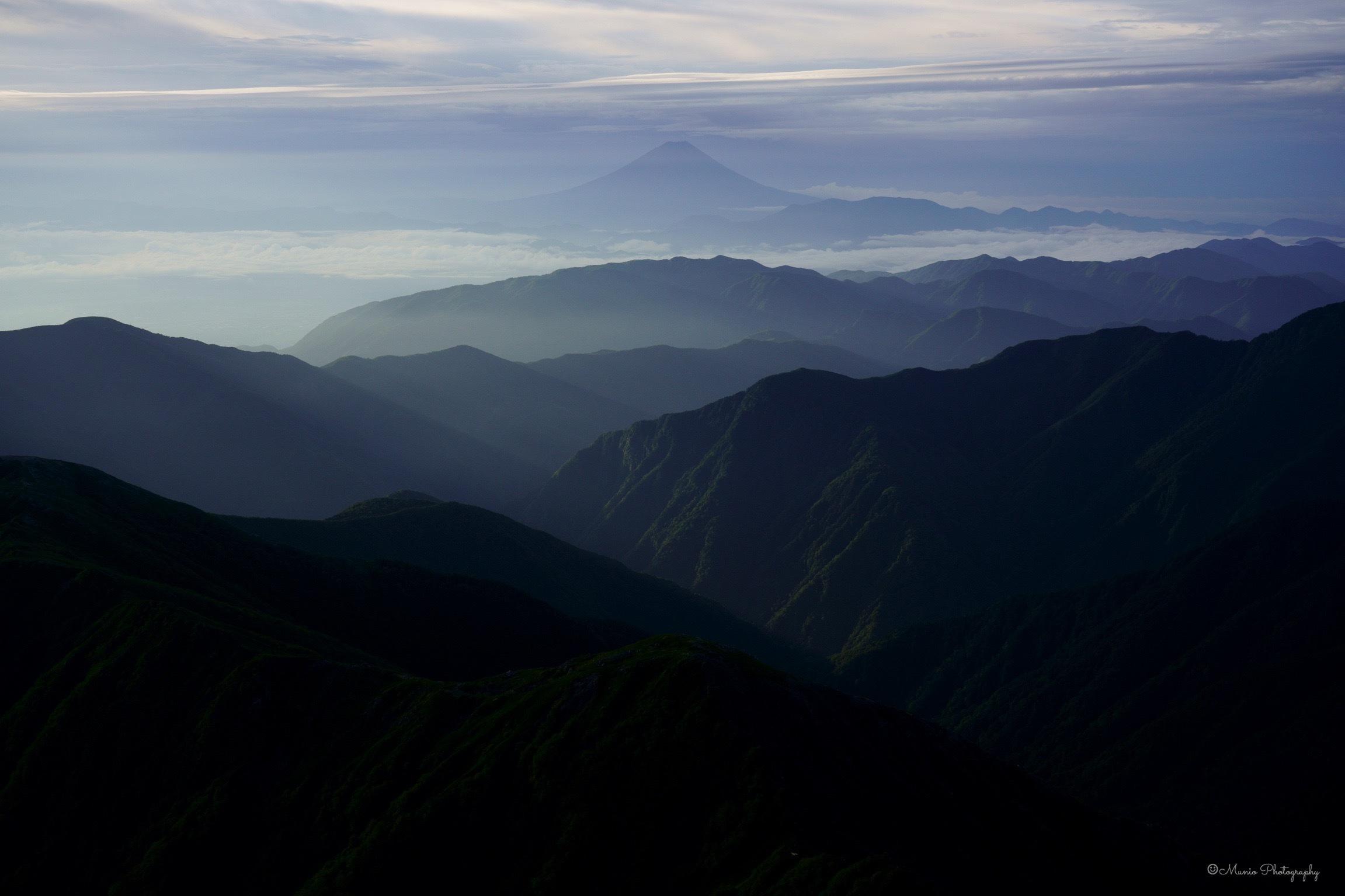 北岳 〜ご来光と富士山〜_f0321522_20315825.jpg