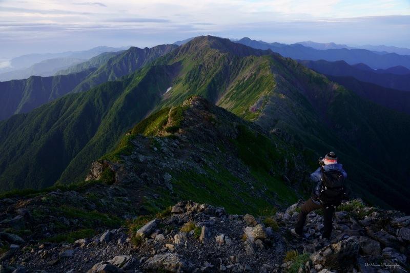 北岳 〜ご来光と富士山〜_f0321522_21340175.jpg