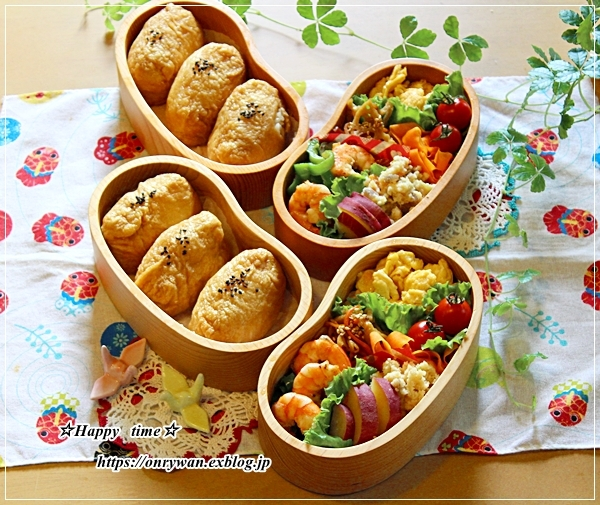 お稲荷さん弁当とつぶやき♪_f0348032_16494507.jpg