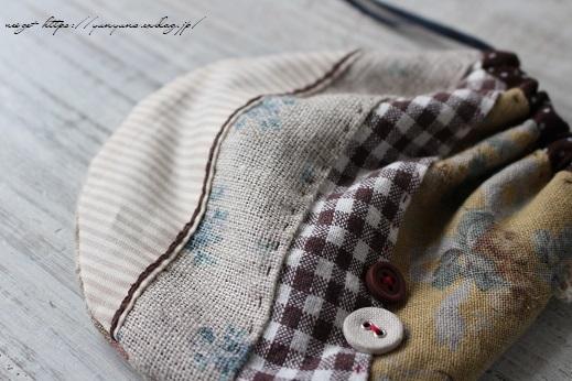 『キルトジャパン10月号』手縫いで作る小さくて可愛い丸巾着&楽天セール♪_f0023333_20490627.jpg