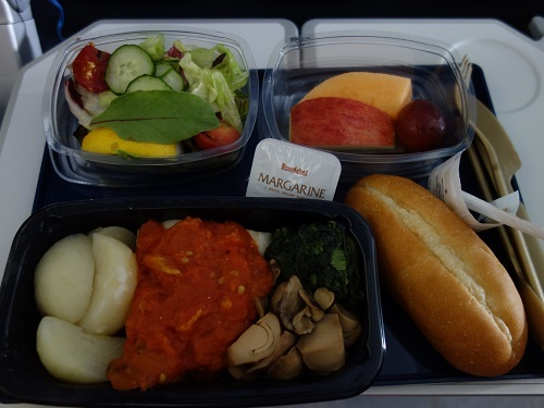 南米アマゾンの旅に出発、機内食はDBMLでいってみた_c0030645_01432712.jpg