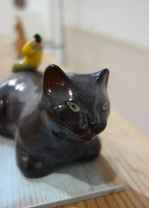 【ヤマイチアツコ陶猫展〜猫鏡】〜私と猫と鈴の音と_a0017350_05253621.jpg
