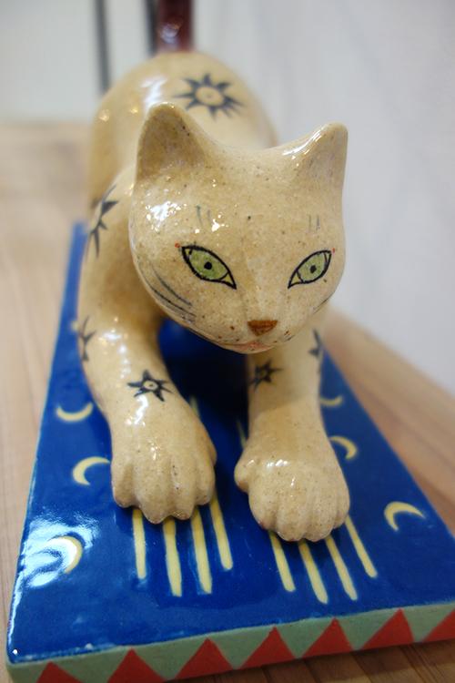 【ヤマイチアツコ陶猫展〜猫鏡】〜私と猫と鈴の音と_a0017350_05253629.jpg