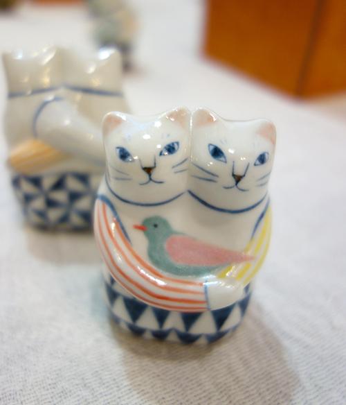 【ヤマイチアツコ陶猫展〜猫鏡】〜私と猫と鈴の音と_a0017350_05253674.jpg