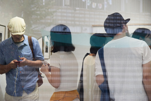 2019.8.28(水)〜9.2(月) 飯島まり子 銅版画展 Summer shower @ 最終日_e0272050_15593517.jpg