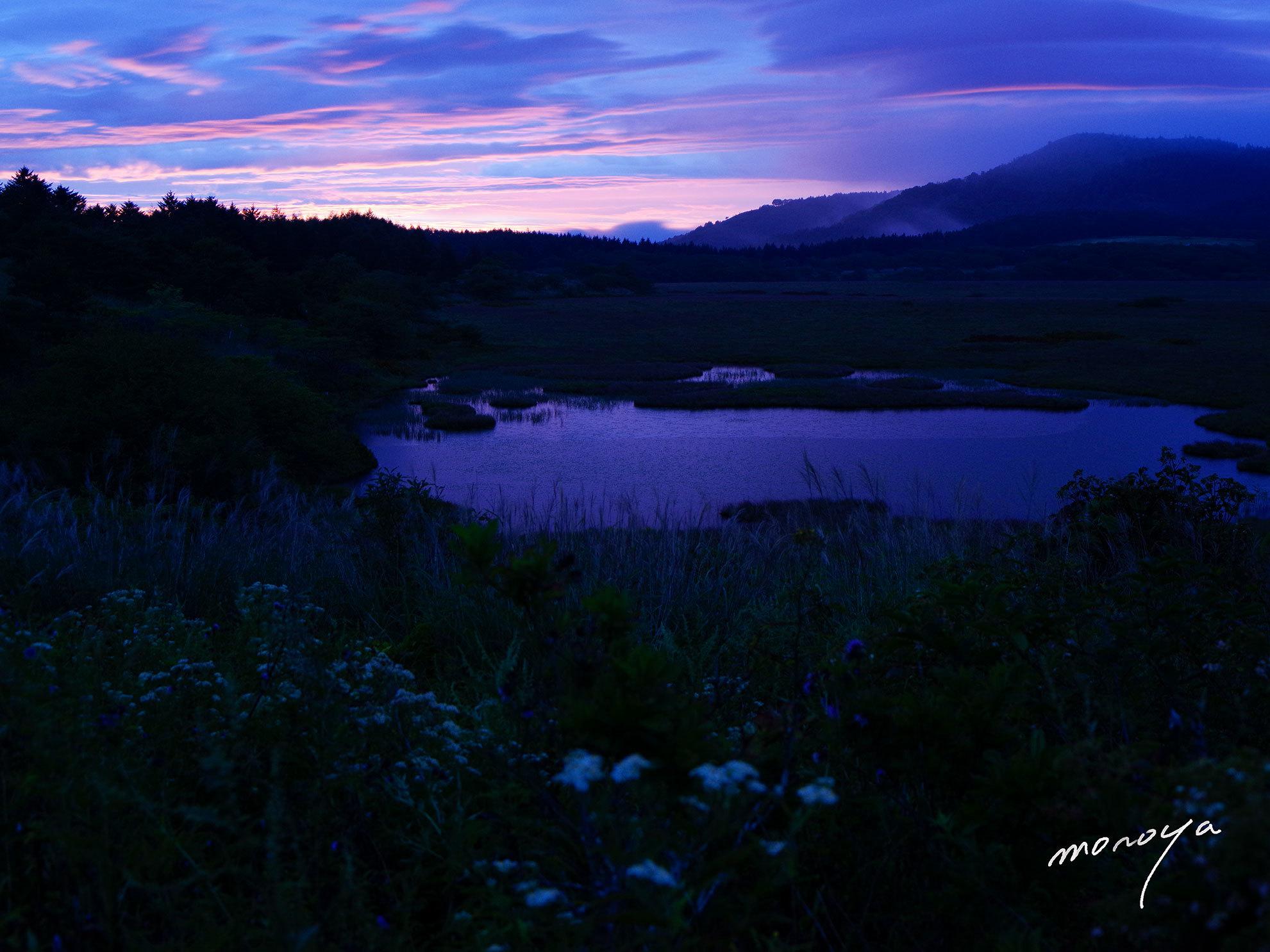湿原の夜明け_c0085877_06181146.jpg
