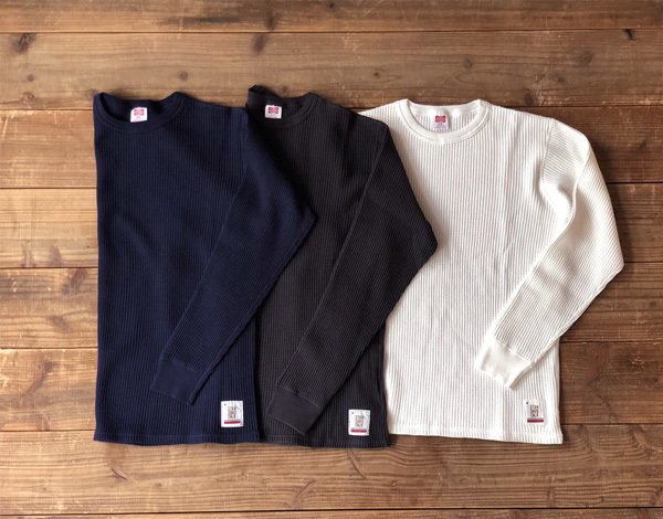 【DELIVERY】 STANDARD CALIFORNIA - Waffle Thermal Long Sleeve T_a0076701_12504474.jpg