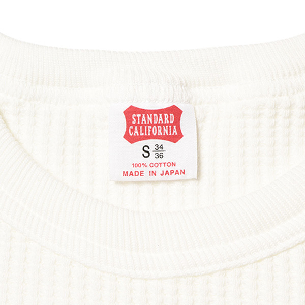 【DELIVERY】 STANDARD CALIFORNIA - Waffle Thermal Long Sleeve T_a0076701_12530327.jpg