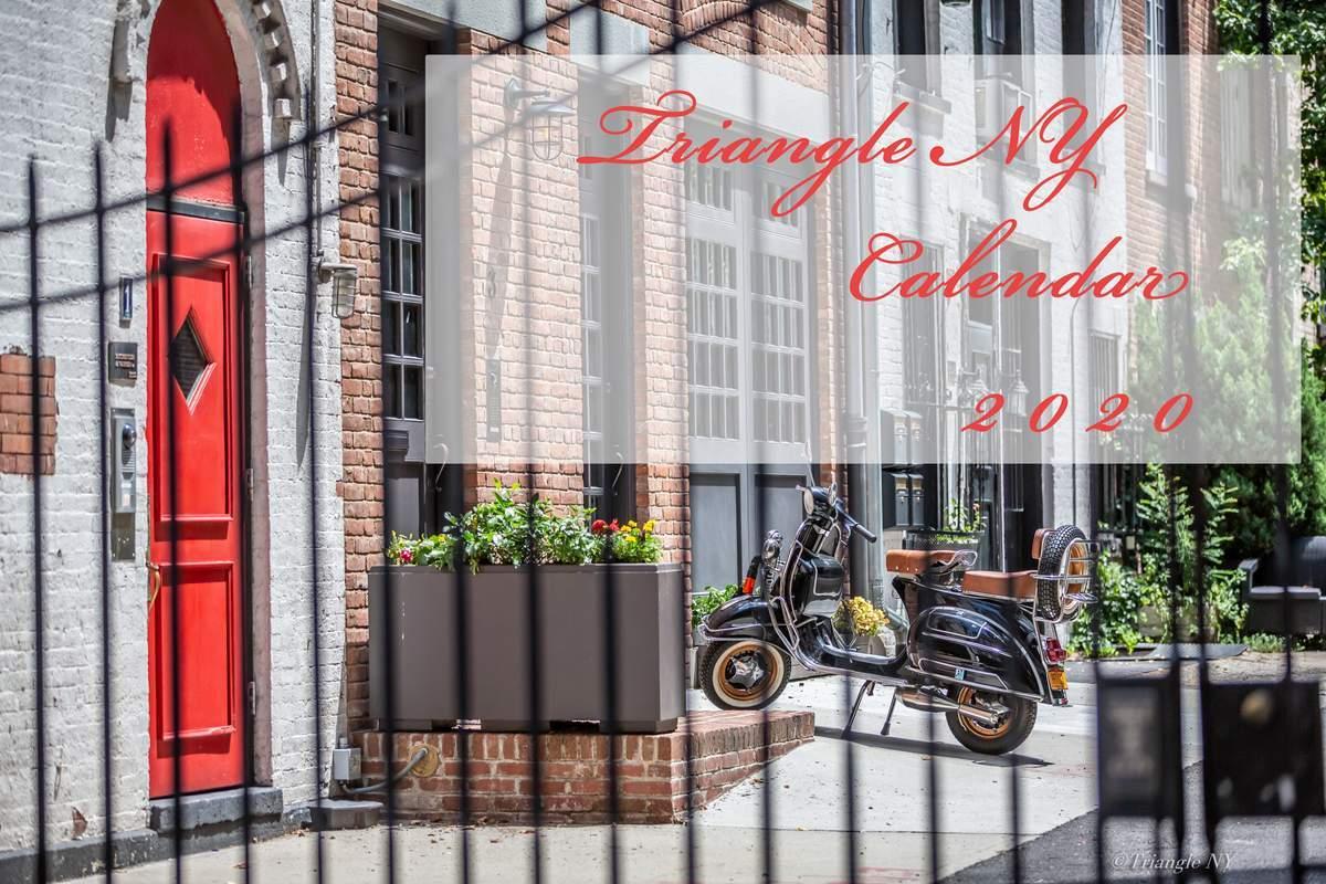 Triangle NY 2020年 カレンダー_a0274805_21062805.jpg