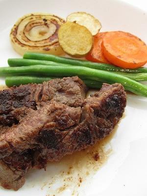 ⇔ 夜 肉よく焼く。よく煮るよ。 ⇔_b0141230_20481844.jpg