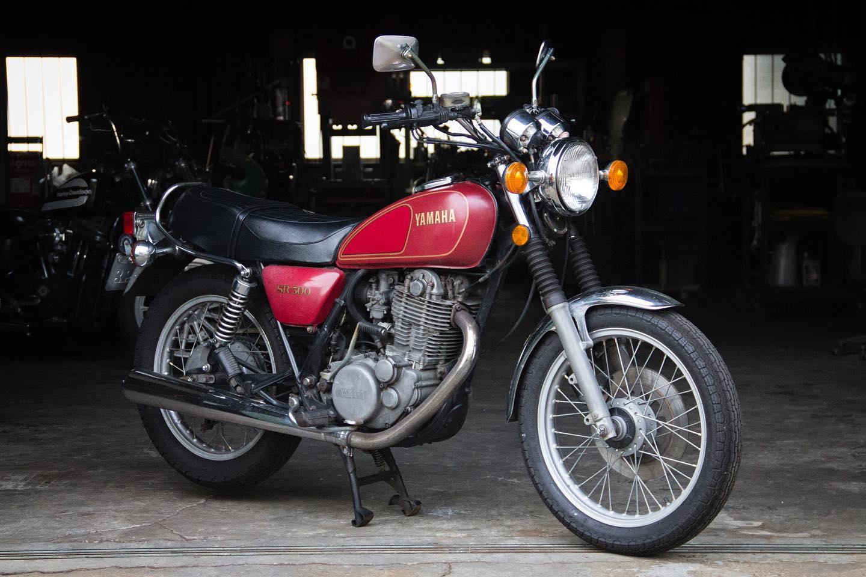 FOR SALE!! 1978 YAMAHA SR500 最初期型 フルオリジナル_e0182444_20451735.jpg