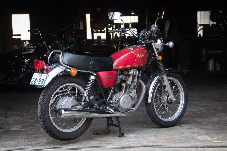 FOR SALE!! 1978 YAMAHA SR500 最初期型 フルオリジナル_e0182444_20452172.jpg