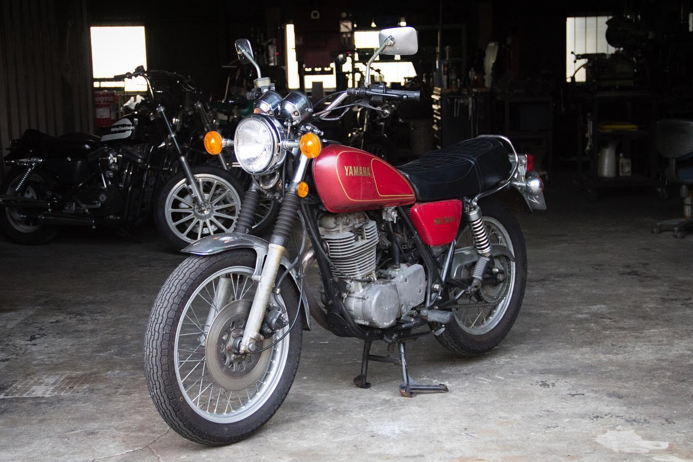 FOR SALE!! 1978 YAMAHA SR500 最初期型 フルオリジナル_e0182444_20452596.jpg