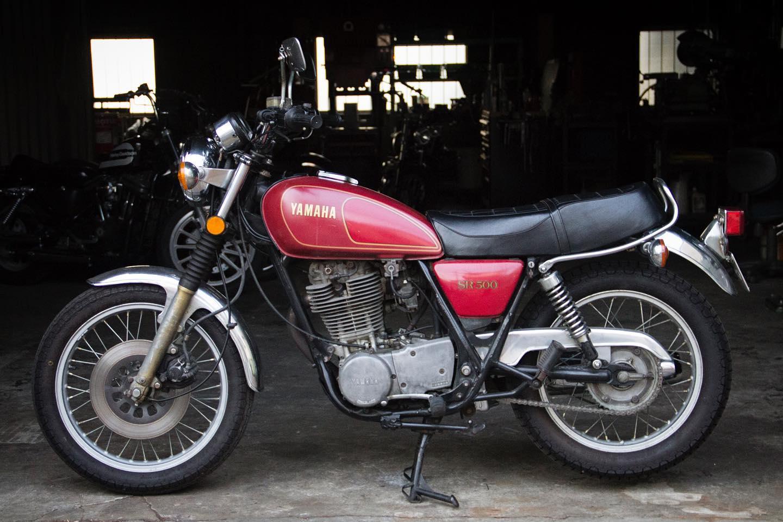 FOR SALE!! 1978 YAMAHA SR500 最初期型 フルオリジナル_e0182444_2045289.jpg