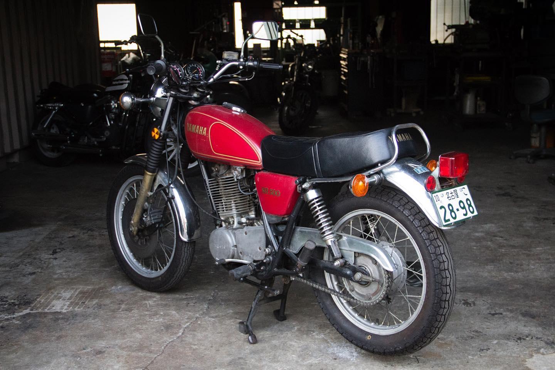 FOR SALE!! 1978 YAMAHA SR500 最初期型 フルオリジナル_e0182444_20453310.jpg
